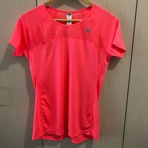 New Balance Hot Pink athletic top